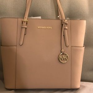 SOLD... Michael Kors leather purse